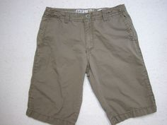 BKE CASUALS WEST COAST SLIM NEWPORT JAVA MEN'S SHORTS SZ 31 ( Measure 32X12 )…