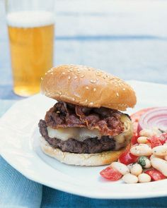 Pancetta Cheeseburgers Recipe