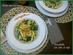 Orecchiette aux pousses de navet, plat typique des Pouilles