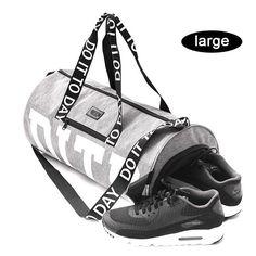 13e17c855c Nylon Outdoor Women Men Sport Bag Professional Fitness Shoulder Gym Bag Hot  Training Female Yoga Bag For Shoes sac de sport