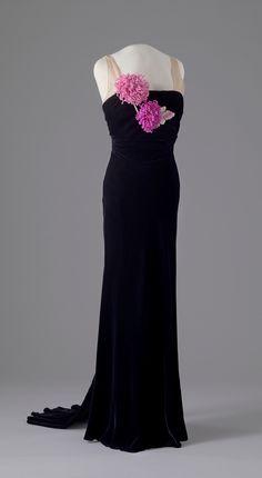 Evening Dress, circa 1935-1938.