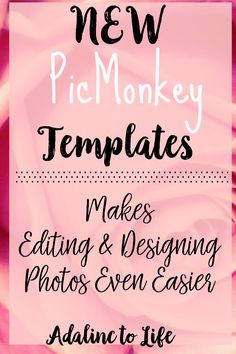 New Picmonkey templates tutorial makes editing and designing your photos even easier. Affinity Photo, Graphic Design Tips, Free Photoshop, Creating A Blog, Craft Business, Make Design, Social Media Design, Photo Editing, Create Yourself