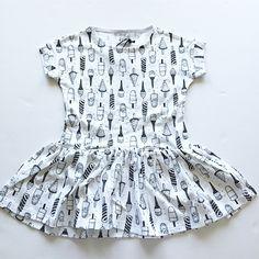 Ice cream girly dress