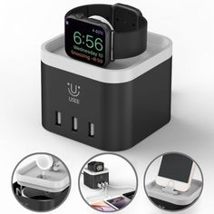 Apple Charging Dock Apple iPhone Watch Stand Apple Watch Accessories, Iphone Accessories, Apple Watch Charging Stand, Top Mobile Phones, Best Apple Watch, Newest Smartphones, Apple Watch Iphone, Usb Charging Station, Iphone Stand