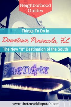 """Things to do in Downtown Pensacola, Florida - """"Move over downtowns of Savannah, Charleston, and New Orleans, there's a new southern rival in town and its name is Pensacola. If its richly detailed past forms the backbone of this charming city, then the heart and soul of Pensacola's downtown area clearly lies on the walkable sleeves of Palafox Street, where 450 years of history combine to create a captivating, picturesque epicenter that houses the trendiest boutiques, cafes, lounges,and more"""
