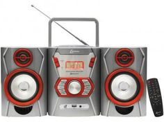 Micro System Lenoxx 12W MP3 USB - com Bluetooth