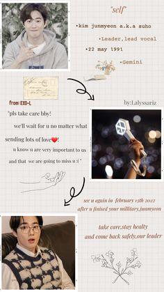 Suho military Waiting For U, Kim Junmyeon, Loving U, Suho, Gemini, Military, Twins, Soho, Military Man