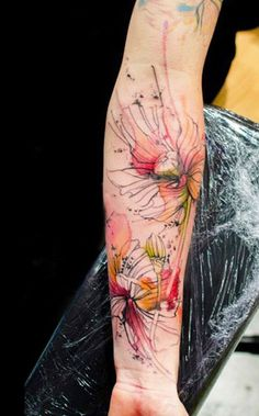 Tattoo Artist - Klaim Street Tattoo - flowers tattoo