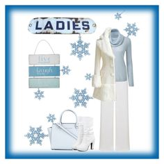 A fashion look from December 2016 featuring cowl neck top, over coat and high waisted white pants. Browse and shop related looks. Ashley Thomas, Cowl Neck Top, Wedgwood, White Pants, Fashion Looks, Michael Kors, Lady, Coat, Polyvore