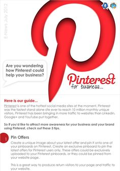 Pinterest for Business  - epublicitypr.com