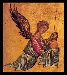 Orthodox Christianity, Orthodox Icons, Christian Art, Angeles, Painting, Christ, Dibujo, Byzantine Icons, Archangel