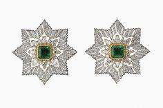 Серьги-ордена Stella Alpina, так выглядит у Buccellati интерпретация ювелирного стиля dolce vita