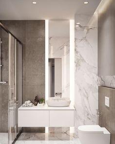 Small Bathroom Interior Design Pictures but Bathroom Decor Brown once Bathroom Decor Above Toilet what Bathroom Tiles Design Images Bathroom Design Luxury, Bathroom Layout, Modern Bathroom Design, Bathroom Colors, Bathroom Designs, Bath Design, Minimal Bathroom, Modern Design, Tile Design
