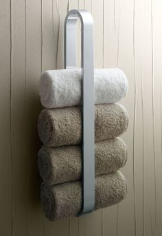 40 Towel Storage For Small Bathroom Ideas 22 – Towel hanger diy Hang Towels In Bathroom, Rv Bathroom, Hanging Towels, Bathroom Ideas, Bath Ideas, Budget Bathroom, Diy Hanging, Master Bathroom, New Swedish Design