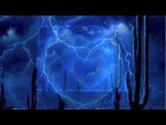 Thunder Heart - Painting Lightning Storm & Stormy Sky - Acrylic Time Lapse Painting - YouTube