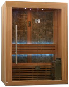 2 3 Person Ceramic Far Infrared Sauna Bathroom Remodel Portable Steam Sauna, Sauna Steam Room, Sauna Room, Homemade Sauna, Basement Workout Room, Traditional Saunas, Sauna Design, Red Cedar Wood, Modern Farmhouse Bathroom