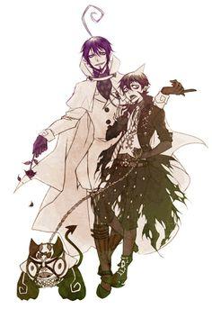 Mephisto Pheles & Amaimon - Ao no Exorcist / Blue Exorcist