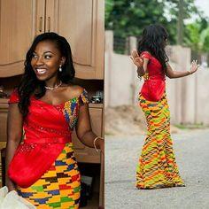 Ghanian Ladies : Ankara Long Gown Styles - DeZango Fashion Zone