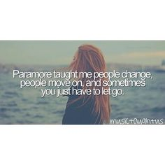 Paramore Taught me...