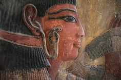 Wall of the Seti I 's Tomb ...