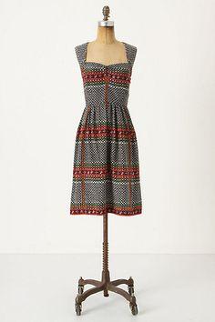 Tessera Dress #anthropologie maple