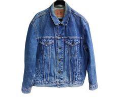 Vintage Levis 70503 02 trucker men jacket 100% by SilhouettesArt