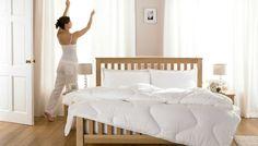 Declutter Your Bedroom for Better Sleep / Parachute Home Best Plants For Bedroom, Bedroom Plants, Messy Bedroom, Parachute Home, Declutter Your Home, White Bedroom, Cool Rooms, Good Night Sleep, Interior Design