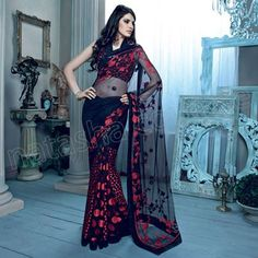 Indian Sarees styles 2014 for girls By Natasha couture 4 Indian Sarees styles 2014 for girls By Natasha couture