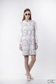 Atypical, Ss 15, Summer Collection, Identity, Marble, Kimono, White Dress, Metallic, Spring Summer
