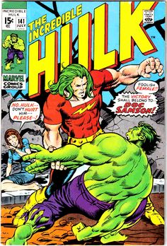 The Incredible Hulk #141 Cover Art by herb Trimpe