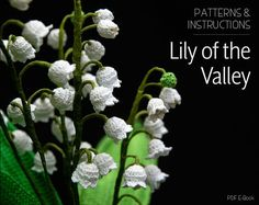 Crochet Pattern for Lily of the Valley - Crochet Flower Pattern