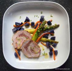 Rulada din muschiulet de porc cu sunca si cascaval   Savori Urbane Carne, Steak, Cooking, Pork, Cuisine, Kitchen, Steaks, Brewing, Kochen