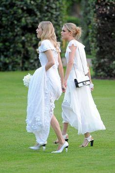 Cara and Poppy Delevigne