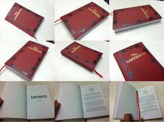 Лабиринт Красная книга Опора Реплика от SwakProps на Etsy