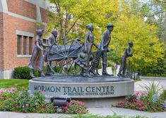 Mormon Trail Center at Historic Winter Quarters - Tours about first pioneers