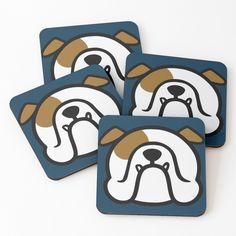 smooshfaceutd2015 Bully Dog, Dog Gifts, Disney Characters, Fictional Characters, Coasters, Dogs, Art, Art Background, Dog Presents