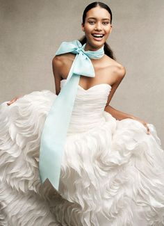 I don't even like frills and ruffles, but I love this!