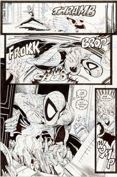 Todd McFarlane The Amazing Spider-Man #322 Page 27 Original Art (Marvel, 1989)