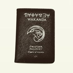 How about a wakanda passport cover? Passport Cover, Traveling, Electronics, Vacation, Holiday, Instagram, Viajes, Vacations, Vacations