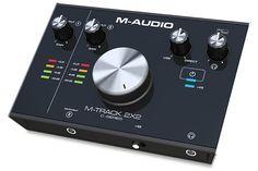 M-Audio M-Track 2x2 USB Audio Interface (scheduled via http://www.tailwindapp.com?utm_source=pinterest&utm_medium=twpin&utm_content=post177098375&utm_campaign=scheduler_attribution)