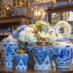 ciao! newport beach: blue and white loveliness