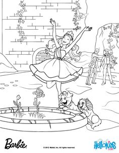 Gardenia Flowers Made Out Of Diamonds Barbie Coloring Page More The Princess