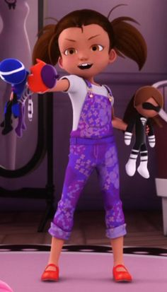 Manon Chamack | Miraculous Ladybug S1 | Ep 18 Marinette Doll, Ladybug And Cat Noir Reveal, Miraculous Ladybug Wallpaper, Minor Character, Totally Spies, Puppets, Mlb, Characters, Movie