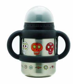 Sugarbooger Flip and Sip Container, Dia De Los Muertos.  Possibly the coolest sippy cup I have ever seen.