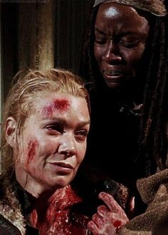 """Andrea & Michonne - The Walking Dead - - """"Welcome To The Tombs"""" I know how the safety works Walking Dead Tv Series, Walking Dead Season, Fear The Walking Dead, Laurie Holden, Dead Zombie, Stuff And Thangs, Daryl Dixon, Zombie Apocalypse, Best Shows Ever"""