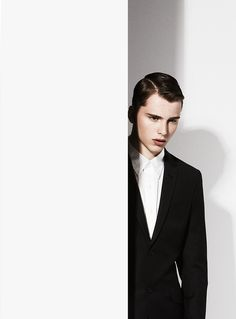 A bright model up and comer from New York Model Management, Stefan plays muse to fashion photographer Joe Bulawan.