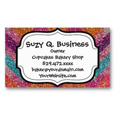 Qr code yes i am single mini business card qr codes cards and glitter chevron pink purple orange teal business card reheart Gallery