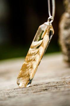 Botanische Halskette sanfte Anhänger natürlichen Schmuck