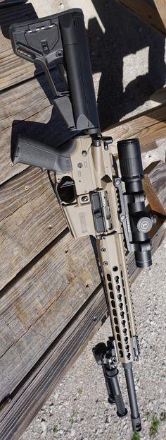 Barrett REC7 5.56 Nato GEN II FDE Rifle 14587