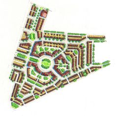 Landscape Design Plans, Landscape Architecture Design, Concept Architecture, Urban Landscape, City Layout, Layout Design, Social Housing Architecture, Urban Design Plan, Manchester England